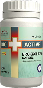 Bio+Active Broccoli-germ capsules 250 pcs.